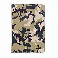 Til kuffert kortholder camouflage farve mønster fuld krop tilfælde camouflage farve hårdt pu læder til ipad mini 4 mini 3/2/1