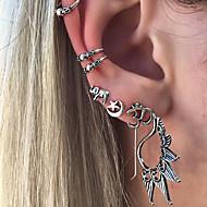 Γυναικεία Κουμπωτά Σκουλαρίκια Μοντέρνα Πεπαλαιωμένο Βοημία Style Κράμα Star Shape Number Shape Ελέφαντας Κοσμήματα ΓιαΚαθημερινά Causal