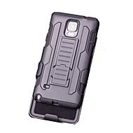 Mert Samsung Galaxy Note Állvánnyal Case Hátlap Case Páncél PC Samsung Note 5 / Note 4 / Note 3