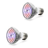 7W E14 GU10 E27 Lampy szklarniowe LED 40 SMD 5730 800-1200 lm Ciepła biel Biały Czerwony Niebieski V 2 sztuki