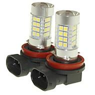 Sencart 2pcs h11 pgj19-2 mistlicht licht koplamp lampen lampjes (wit / rood / blauw / warm wit) (dc / ac9-32v)