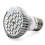 15W E27 LED-kasvivalo 40 SMD 5730 800-1200 lm Punainen Sininen UV V 1 kpl
