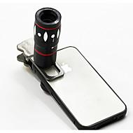 10x többfunkciós 4 in1 külső kamera lencséje nagylátószögű makrófényes telefotó mobiltelefonhoz