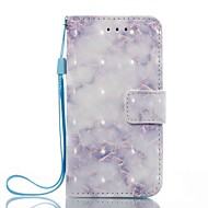 Slučaj za Apple iPod Touch 5 touch 6 držač kartica držač novčanik sa stalak flip uzorak puni tijelo mramor tvrdi PU koža