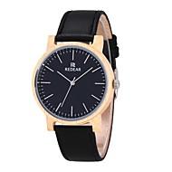 男性用 女性用 ファッションウォッチ 腕時計 ウッド 日本産 クォーツ 木製 本革 バンド チャーム カジュアルスーツ ブラック