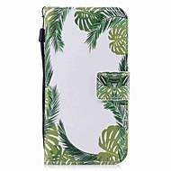 Na iPhone X iPhone 8 iPhone 8 Plus Etui Pokrowce Portfel Etui na karty Z podpórką Flip Wzór Magnetyczne Futerał Kılıf Drzewo Twarde