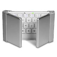 Bluetooth teclado escritório Dobrável Para Windows 2000/XP/Vista/7/Mac OS Android OS iOS IPad mini 4 iPad 1 iPad 2 iPad 3 iPad 4 iPad