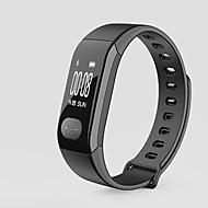 Akıllı Bileklik iOS Android iPhone Su Resisdansı Uzun Bekleme Adım Sayaçları Sağlık Bakımı Sporlar Kalp Ritmi Monitörü Alarm Saati Mesafe