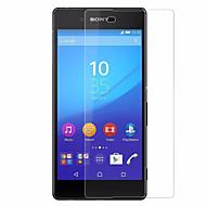 Hærdet Glas Skærmbeskytter for Sony Sony Xperia Z4 Skærmbeskyttelse High Definition (HD) 9H hårdhed 2.5D bøjet kant