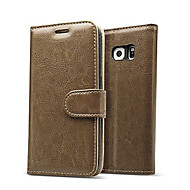 luksusowa skórzana klapka karty portfla skrzynki pokrywa dla Samsung Galaxy s7 / s7 krawędzi