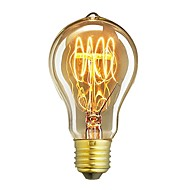 1pcs a19 60w e27 żarowy breloczek vintage edison żarówka kawiarenka dekoracja oświetlenie ac220-240v