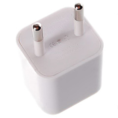 Ultra-Mini 1A USB Power Adapter/Charger (100~240V/EU Plug)