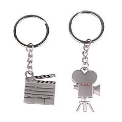 les amateurs de porte-clés inoxydable (dv enregistreur / 2-pièces)