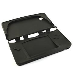 Silikon schützende Haut / Tasche für Nintendo DSi LL / XL (schwarz)