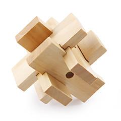 bois pull-dehors iq puzzle (6 pcs)