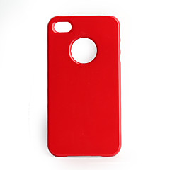 Piano Baking Protective Case iPhone 4 (Red)