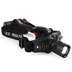 LED Flashlights / Headlamps LED 5 Mode 210 Lumens Tactical / Compact Size / Small Size Cree XR-E Q5 10440 / AAA Others , BlackAluminum