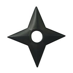 Broń Zainspirowany przez Naruto Cosplay Anime Akcesoria do Cosplay Broń Černá Tworzywo konstrukcyjne Męskie / Damskie
