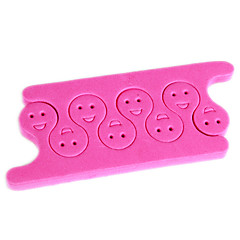 2PCS Pro Cotton Toe Separators Nail Art Tool