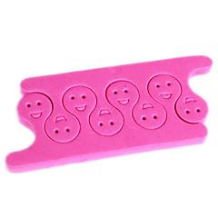 2pcs pro separatori toe cotone chiodo strumento dell'arte