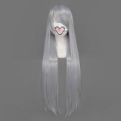 Szerepjáték parókák Final Fantasy Sephiroth Ezüst 80CMAnime Szerepjáték parókák Férfi