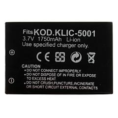 batterie appareil photo numérique pour Kodak EasyShare Kodak DX6490 (3.7v, 1750mah)