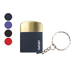 qihao marque mini briquet à gaz en métal (couleurs assorties)