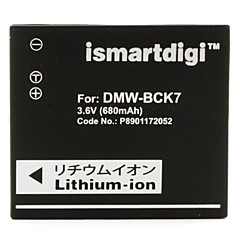 iSMART câmera digital bateria para Panasonic DMC-s1, DMC-FX77 e mais