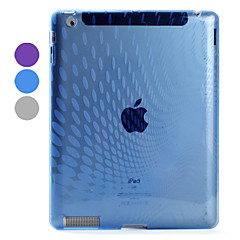 Raindrop Pattern TPU Back Case Compatible with Original Smart Cover for iPad 3