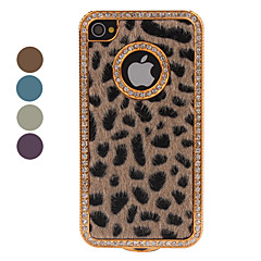Etui de Protection Style Léopard pour iPhone 4/4S - Assortiment de Couleurs