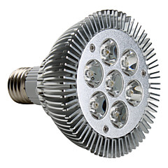 7W E26/E27 LED Spotlight PAR30 7 High Power LED 680 lm Warm White AC 220-240 V