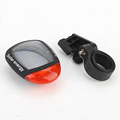 l'énergie solaire la lumière rechargeable queue sécurité à bicyclette