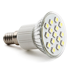 3W E14 / GU10 / E26/E27 Lâmpadas de Foco de LED MR16 15 SMD 5050 200 lm Branco Quente / Branco Natural AC 220-240 V