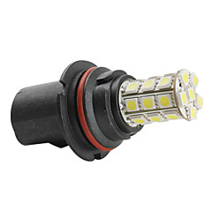9004 5050 SMD 27-LED 1.44w 260mA valkoinen lamppu auton (DC 12V)