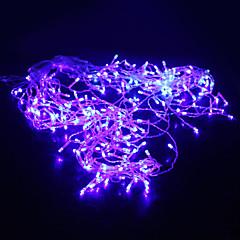 5M 200-LED Blue Light 8 Sparking Modes Christmas Fairy String Lamp (220V)