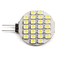 1.5W G4 LED Spotlight 24 SMD 3528 60 lm Natural White DC 12 V