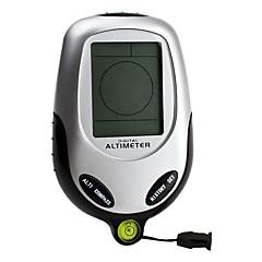 6-en-1 digital altímetro (barómetro, brújula, termómetro, tiempo, tiempo)