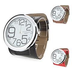 女性用 数字 PUレザー クォーツ 腕時計(多色)
