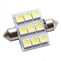 haute performance 36mm 9 * la lumière led blanc 5050 SMD signal de la voiture