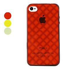 Cells Pattern Hard Case for iPhone 4 and 4S (Assorted Colors)