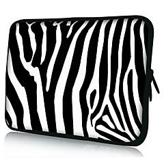 """Zebrastreifen Neopren Laptop-Hülle Tasche für 10 """"11"""" 13 """"15"""" ipad macbook dell hp acer samsung"""
