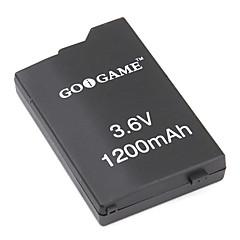 erstatning batteripakke for PSP (3.6V, 1200mAh)
