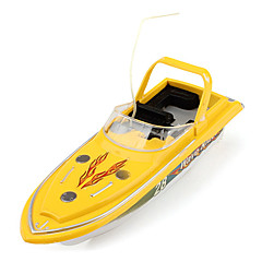 27MHz Mini Remote Control Speed Boat (Yellow)