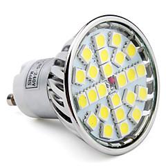 4W GU10 LED Spotlight MR16 24 SMD 5050 280 lm Natural White AC 85-265 V