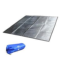 reizen aluminium waterdichte mat voor strand, gazon, slaap-en picknick (grote)