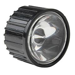 20mm 5 ° optik lensa kaca dengan bingkai untuk senter, lampu spot