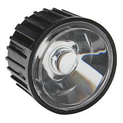 20mm 60 ° optisk glass med ramme for lommelykt, spot lys