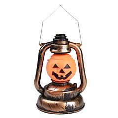 halloween abóbora lanterna luz laranja com efeitos de som (3xAA)