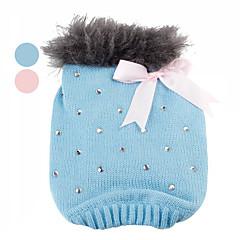 Suéter de Brillos con Collar de Peluche para Perros (XS a XL - Colores Surtidos)