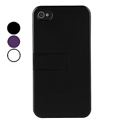 Special Design Hard Case with Stand for iPhone 4 and 4S (Assorted Colors)
